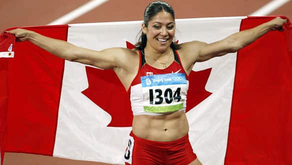 Priscilla Lopes-Schliep gjorde comeback i Quebec i Canada, enorme muskler! thumbnail