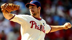 Cliff Lee delivers a pitch in Wednesday's 5-1 Phillies triumph.