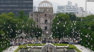 Hiroshima's Atomic Bomb Dome would be one of the historic centrepieces if the city were to host the 2020 Summer Olympic Games.