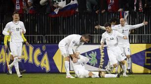 Slovenia Advances over Russia Worlc Cup 2010