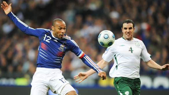 Thierry Henry and his French teammates struggled through the qualifiers for the 2010 FIFA World Cup.