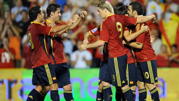 Spain Still Number One in FIFA Rankings