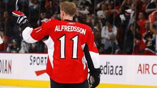 Alfredsson Played Through Injury