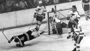 Bobby Orr's Famous Goal Immortalized With Statue