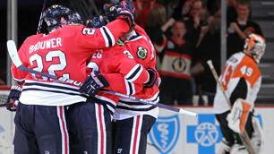 Regrouped Blackhawks Deliver Game 5 Victory