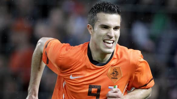 Robin van Persie has pace and power that rivals any in the world.