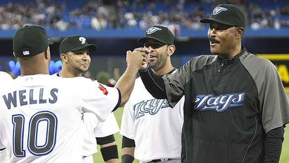 For years, Blue Jays manager Cito Gaston, right, has been respected for his ability to manage the personalities of a team. He's not big on the whole rah-rah kind of thing, but he'll let you know when you've done well, says pitcher Scott Richmond.
