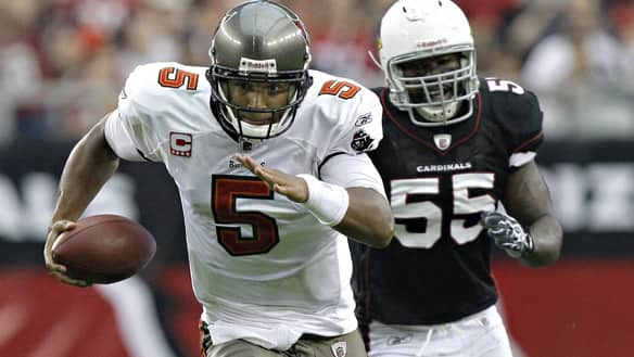 Josh Freeman could have his Tampa Bay Bucanneers alone in the top NFC spot depending on what transpires next Sunday.