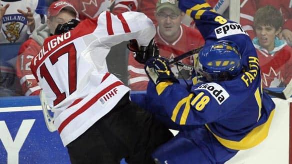 WJC: Sloppy Canadians Fall To Sweden