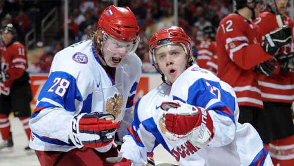 How Do You Say 'EPIC FAIL' In Russian? ...Bragin's Comeback Kids Clobber Cameron's Canadians With 5 Unanswered In The 3rd