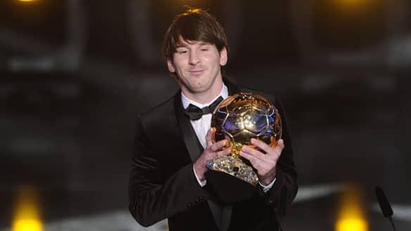 messi lionel110110getty Gelar Pemain Terbaik Messi Dipertanyakan