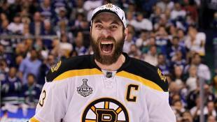 Zdeno Chara said the strategy for beating Vancouver was to play physical and play on the edge. It worked.