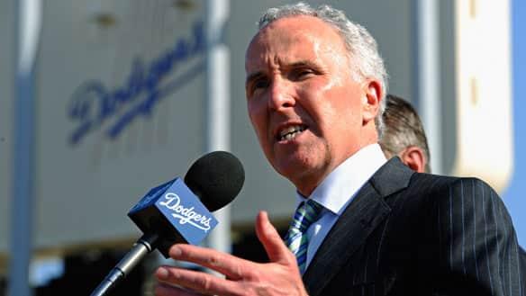 frank mccourt dodgers owner. Los Angeles Dodgers owner