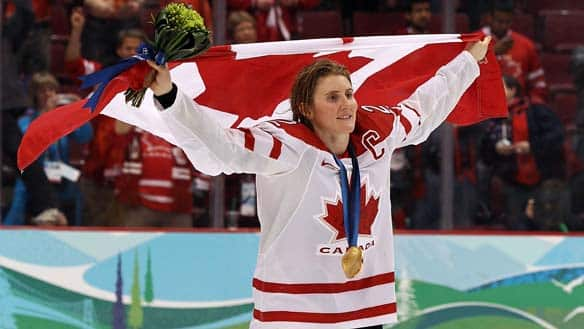 Hayley Wickenheiser has competed at the last four Winter Olympics, winning three gold medals and one silver. She was twice named tournament MVP during those events.
