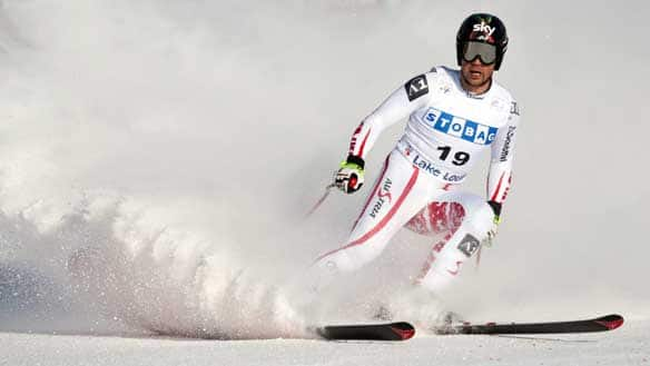 Mario Scheiber was one of four Austrian skiers who missed February's world championships because of injuries following a crash.