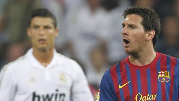 ريال مدريد 2-2 برشلونة كأس السوبر الاسبانية 2011