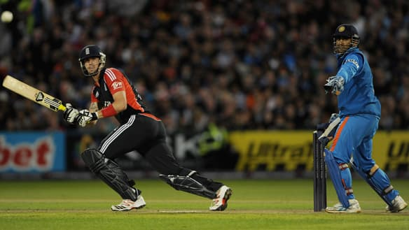 Batsman Kevin Pietersen, left, has been recalled for England's upcoming tour of India.