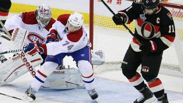 Habs Tops Sens For Cunneyworth's 1st Win