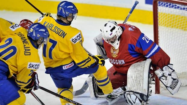 31 Year Drought Over For Swedish Juniors: Zibanejad Backhand Beats Makarov For 1-0 OT Win