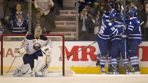 Gustavsson Stands Tall As Leafs Shut Out Sabres