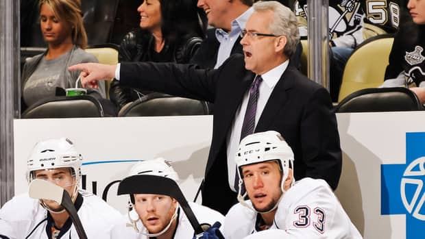 Head Coach Tom Renney of the Edmonton Oilers has been fined by the NHL for his comments about officiating following Monday's game against the Los Angeles Kings.