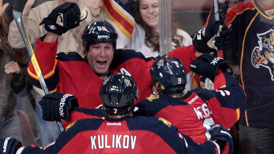 Ed Jovanovski and the rest of the Florida Panthers surprised many by ending their playoff drought following a drastic off-season make-over.