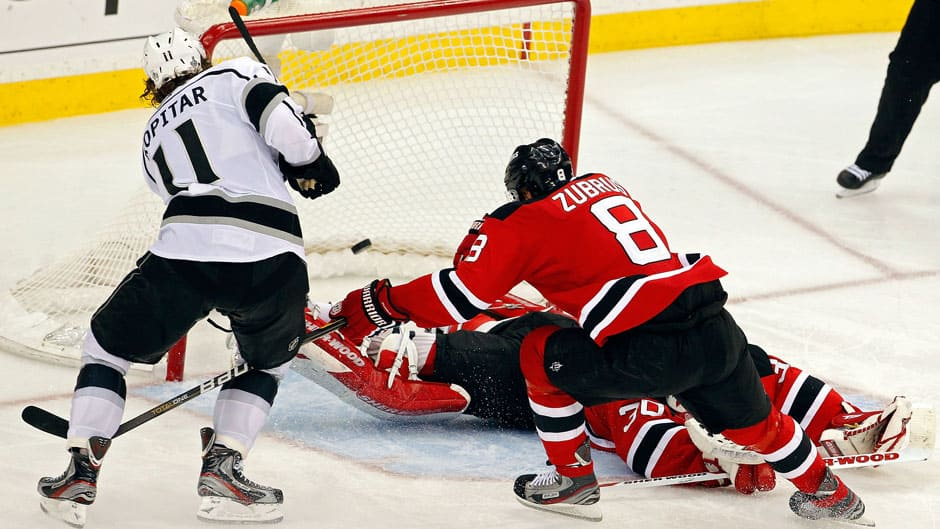 Anze Kopitar Helps Kings Draw 1st Blood In Stanley Cup Final