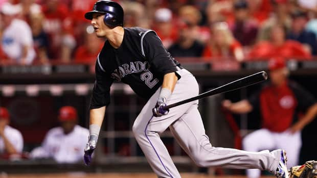 Colorado Rockies short stop Troy Tulowitzki was injured May 30 against Houston, pulling up after running out an infield grounder.