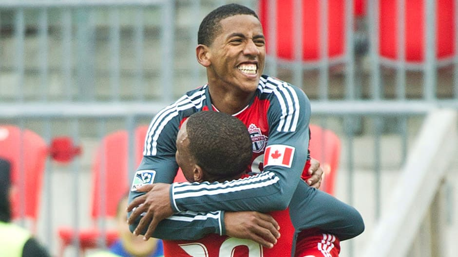 Toronto FC striker Joao Plata, top, tweeted that he was leaving the team on Saturday.