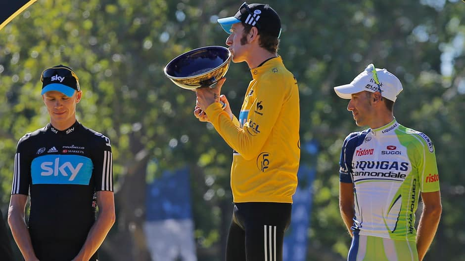Bradley Wiggins Juara Tour de France 2012