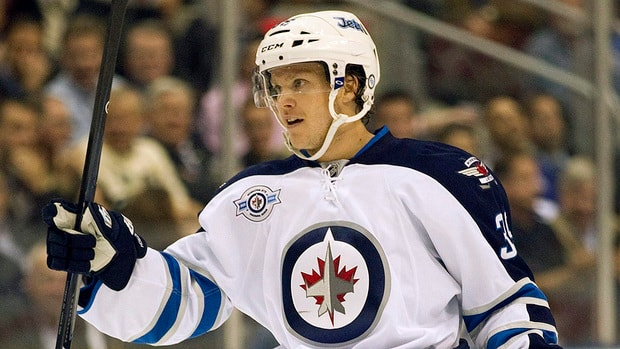 Jets blue-liner Tobias Enstrom recorded 33 points (six goals, 27 assists) in 62 games last season.