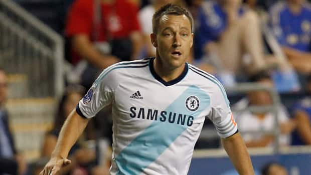 John Terry against the MLS All-Stars during the 2012 AT&T MLS All-Star Game at PPL Park on July 25, 2012 in Chester, Pennsylvania.