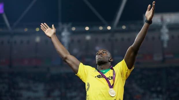 After winning the men's 200-metre Thursday, Jamaican sprinter Usain Bolt shared some harsh words about former 100 and 200 Olympic champion Carl Lewis and his remarks about Jamaican drug testing.