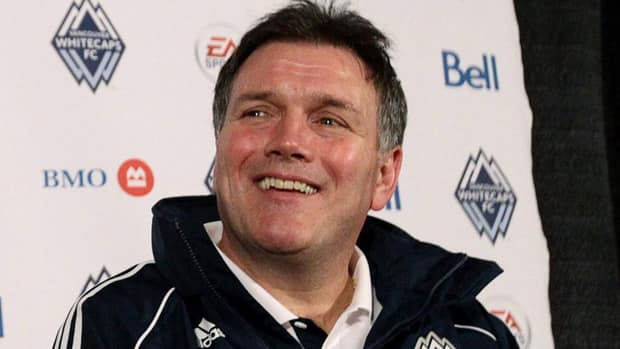 Vancouver Whitecaps team president Bob Lenarduzzi called the announcement for a new training facility