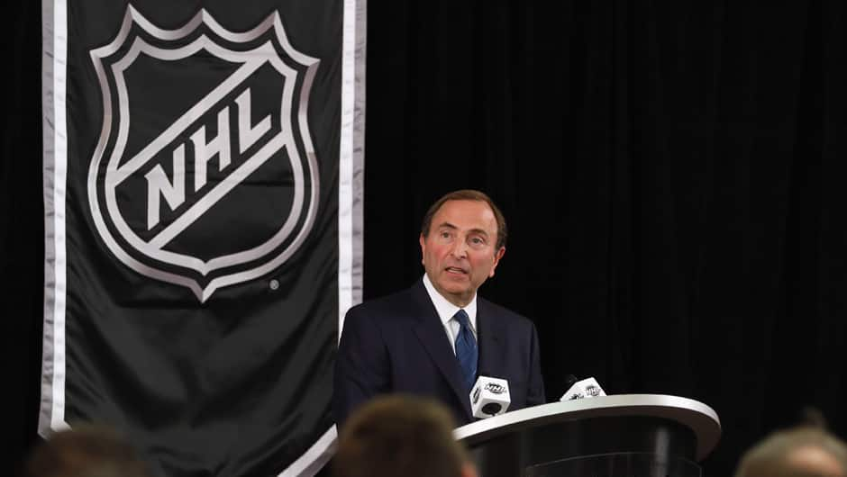 NHL commissioner Gary Bettman decreed that players be locked out as of this past Sunday.