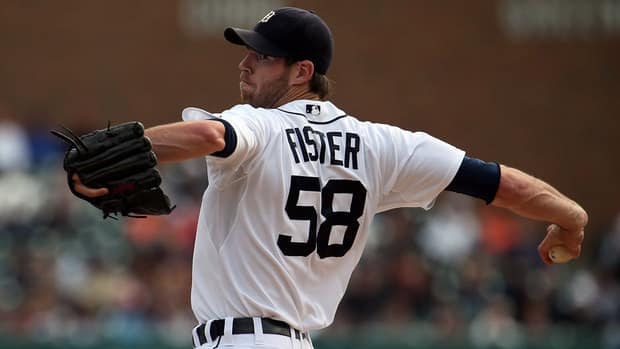 Doug Fister delivers a pitch during Thursday's game against Kansas City.
