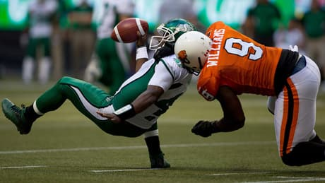 Roughriders face tough task in stopping Lions' offence