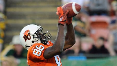 B.C. Lions call on Courtney Taylor in huge CFL West matchup