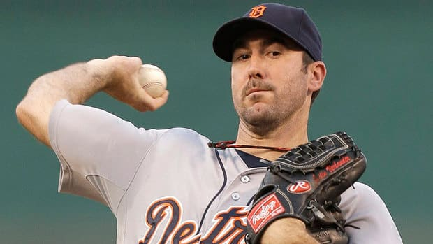 Including the post-season, Tigers' Justin Verlander has posted a 0.77 earned-run average in winning five straight starts with 38 strikeouts over 35 innings.