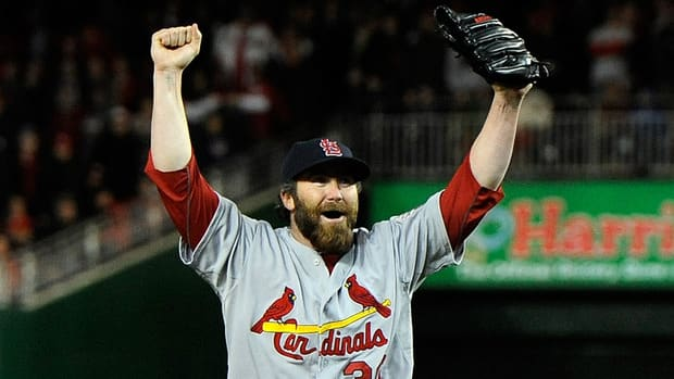 Cardinals closer Jason Motte still has no perfect answer for how St. Louis found a way to win at Washington after trailing 6-0 and advance to the NL championship series against the San Francisco Giants.