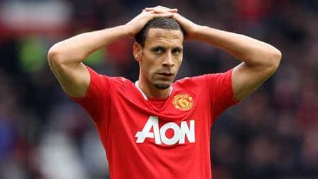 Man U's Ferdinand criticized by manager for not wearing anti-racism shirt