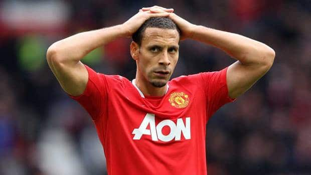 Rio Ferdinand of Manchester United refused wear a T-shirt promoting an anti-racism campaign before the club's match on Saturday.