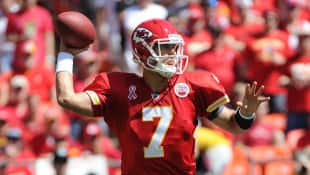 Matt Cassel of the Kansas City Chiefs gets another crack as the team's starting quarterback on Thursday. Cassel was the starter the first five games of the season before sustaining a concussion against the Ravens.