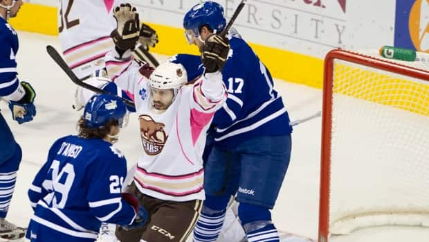 AHL: Late Push By Marlies Not Enough As Bears Hang On For Win