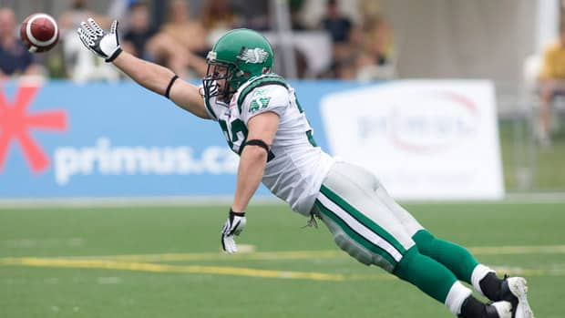 Neal Hughes had seven catches for 71 yards and a TD last season with Saskatchewan.