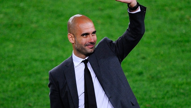 Josep Guardiola stepped down as Barcelona's coach at the end of last season and is on a one-year sabbatical.