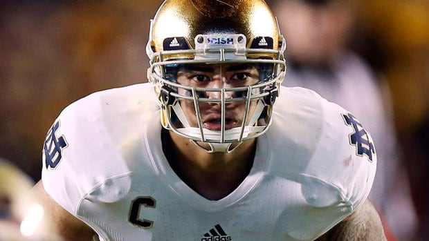 Notre Dame linebacker Manti Te'o was duped into an online relationship with a woman whose