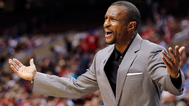 Toronto Raptors coach Dwayne Casey was fined $25,000 US on Thursday for post-game comments about the officials in Wednesday's loss to the Atlanta Hawks.