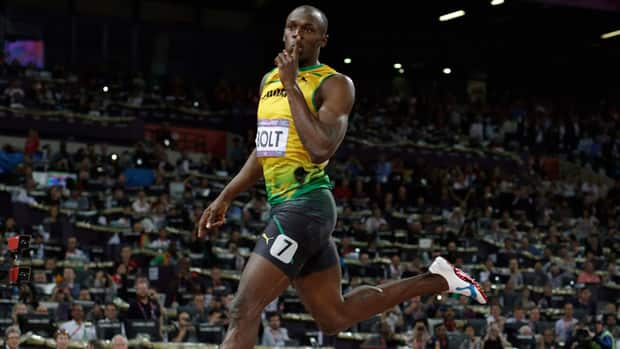 Jamaica's Usain Bolt, shown here competing at the London Olympics last summer, kicked off his sprint season Saturday by making a rare appearance in a 400-metre race.