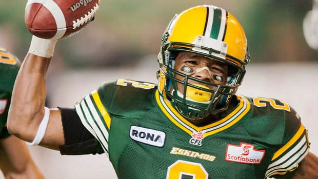 Fred Stamps finished second in CFL receiving last season, recording 70 catches for 1,310 yards and nine TDs.